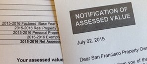 Image of the Notice of Assessed Value