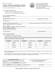 Welfare Exemption Supplemental Affidavit, Housing - Elderly or Handicapped Families (BOE-267-H)